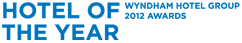 Hotel of the year (Wyndham Hotel Group 2012 Awards)